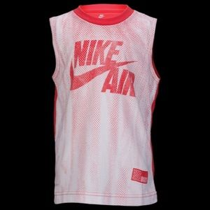 BOYS' PRESCHOOL NIKE AIR JERSEY MUSCLE T-SHIRT